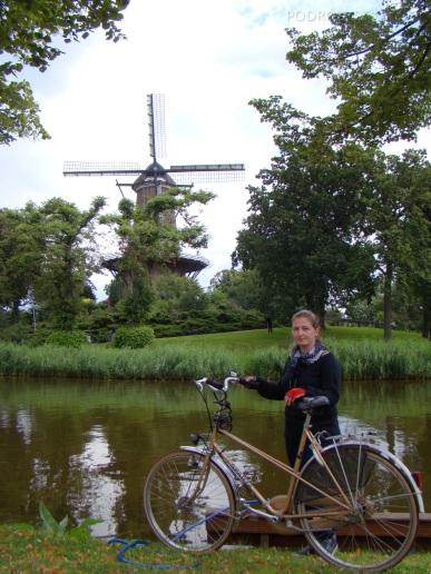 Holandia, Alkmaar, przy młynie