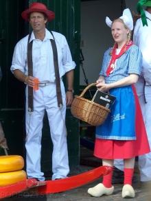 Holandia, Alkmaar, targ serowy (Kaasmarkt)