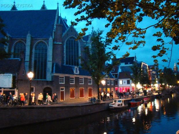 Holandia, Amsterdam, Dzielnica Czerwonych Latarni (De Wallen)