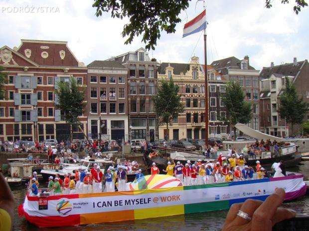Holandia, Amsterdam, parada gejowska Gay Pride