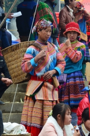 Wietnam, Bac Ha, kobiety z mniejszości Hmong