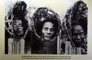 Wietnam, Hanoi, Hoa Lo Prison, ścięte głowy więźniów wystawione na widok publiczny