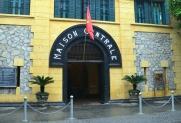 Wietnam, Hanoi, brama Hoa Lo Prison (Maison Centrale)