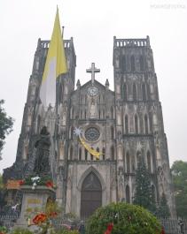 Wietnam, Hanoi, hanoiskie Notre Dame – St Joseph Catedral
