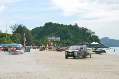 Malezja, wyspa Langkawi, plaża Pantai Cenang
