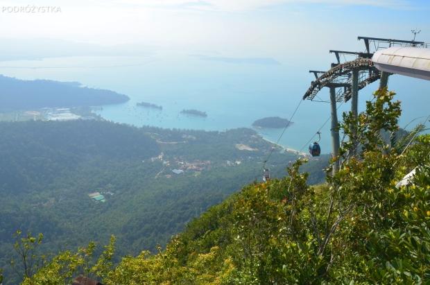 Malezja, wyspa Langkawi, SkyCab, widok z Gunung Mat Cincang