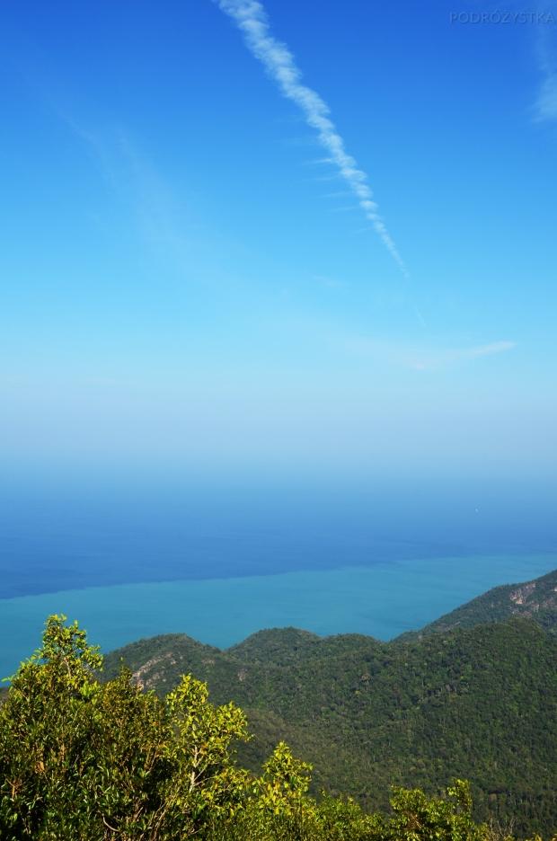 Malezja, wyspa Langkawi, widok z Gunung Mat Cincang