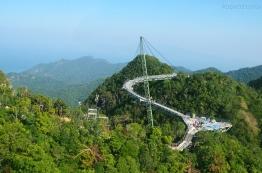 Malezja, wyspa Langkawi, Sky Bridge