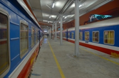Wietnam, Hanoi, dworzec kolejowy