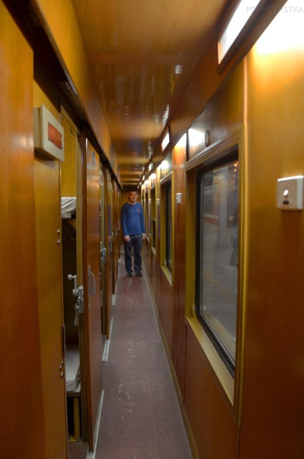 Wietnam, Hanoi-Lao Cai, wnętrze pociągu