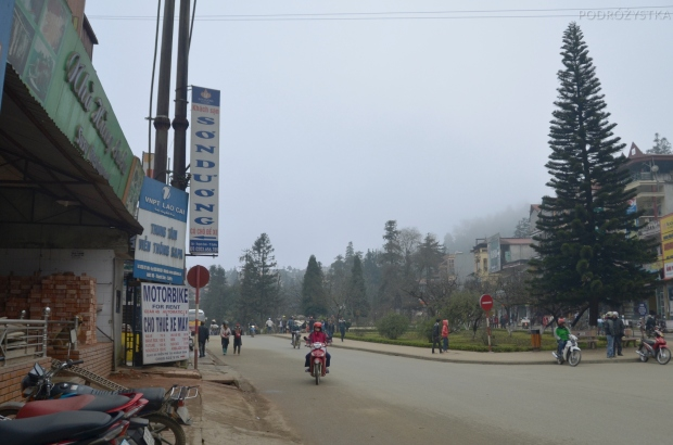 Wietnam, Sa Pa, spokojne, górskie miasteczko
