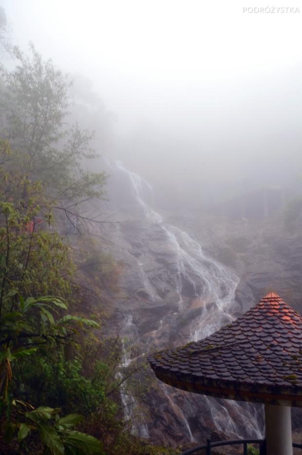 Wietnam, okolice Sa Pa, Srebrny Wodospad (Silver Waterfall - Thác Bạc)