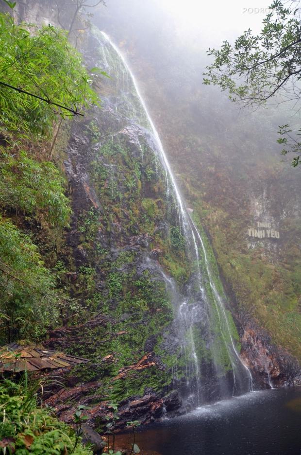 Wietnam, okolice Sa Pa, Wodospad Miłości (Love Waterfall - Thác Tình Yêu)