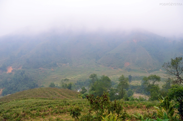 Wietnam, okolice Sa Pa, tarasy ryżowe