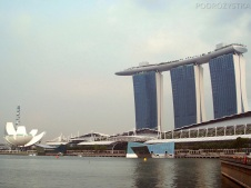 Singapur, Marina Bay Sands Hotel i Art Science Museum