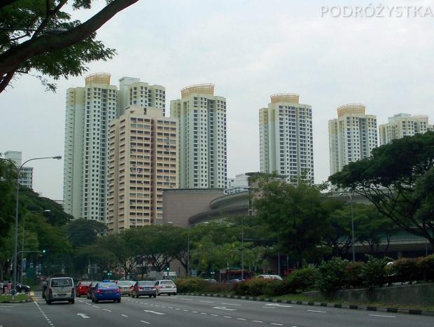 Singapur, Toa Payoh, mieszkam w pomarańczowawym bloku