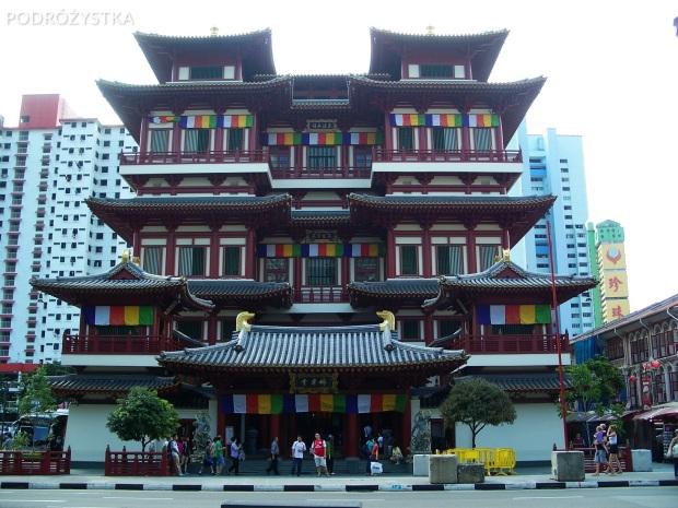 Singapur, Chinatown, Buddha Tooth Relic Temple & Museum - Świątynia i muzeum Zęba Buddy