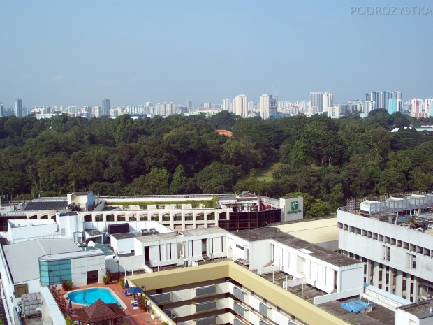 Singapur, Orchard Road, panorama