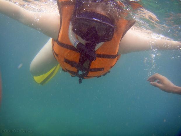 Tajlandia, Krabi, ryba w wodzie