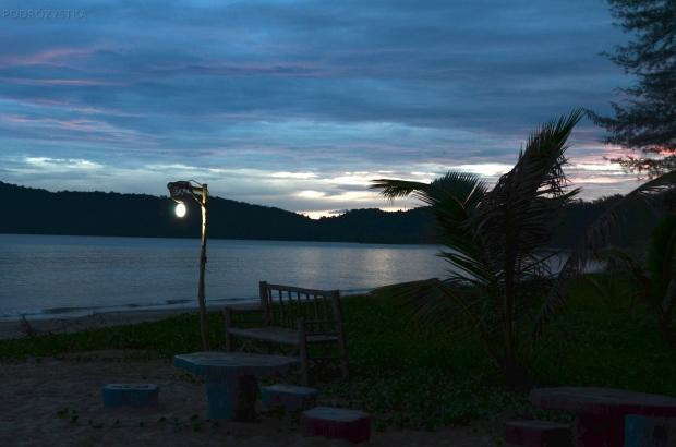 Tajlandia, Krabi, zachód słońca
