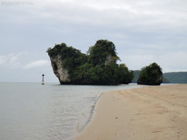 Tajlandia, Krabi, skały