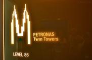 Malezja, Kuala Lumpur, Petronas Towers, 86 (!) piętro