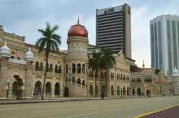 Malezja, Kuala Lumpur, Bangunan Sultan Abdul Samad