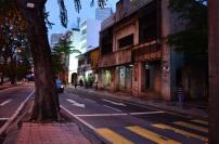 Malezja, Kuala Lumpur, opuszczone budynki niedaleko centrum