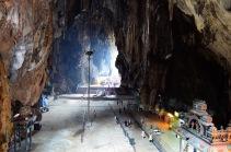 Malezja, okolice Kuala Lumpur, Batu Caves - jaskinie Batu, główna jaskinia
