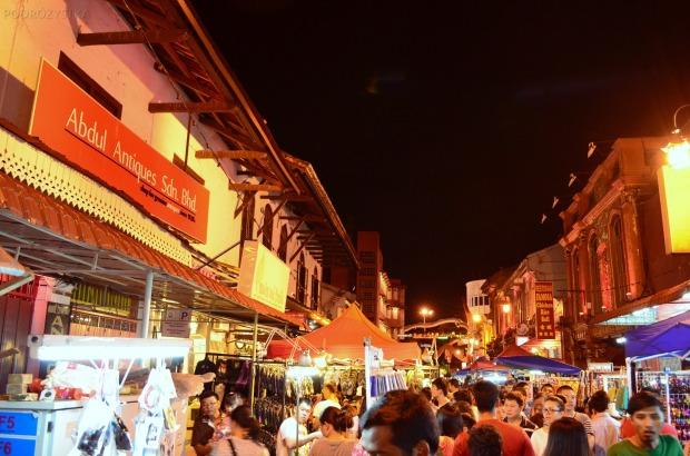 Malezja, Melacca, Night Market - nocny market