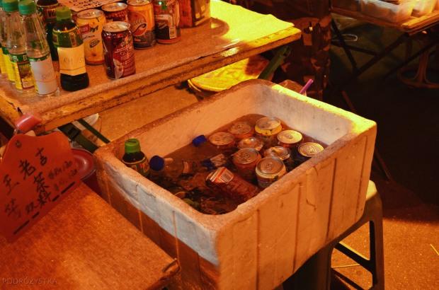 Malezja, Melacca, Night Market, lodówka z napojami