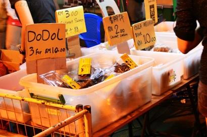 Malezja, Melacca, Night Market - nocny market, stragany ze słodyczami