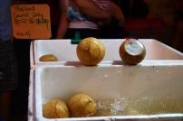 Malezja, Melacca, Night Market - nocny market, kokosowa galaretka
