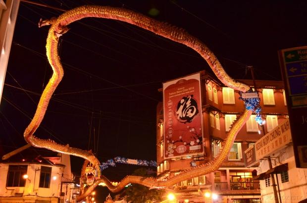 Malezja, Melacca, wężo-smok
