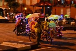 Malezja, Melacca, rowerowe riksze