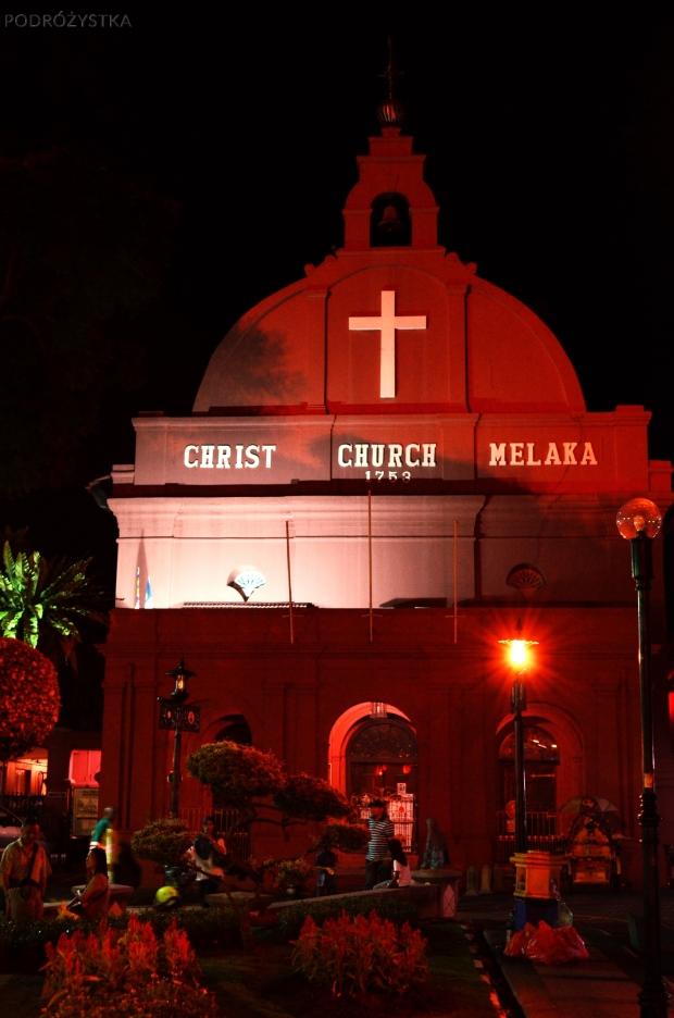 Malezja, Melacca, Christ Church Melaka - kościół protestancki