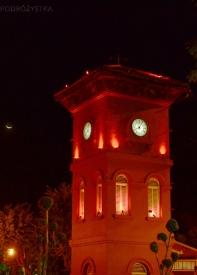 Malezja, Melacca, wieża przed kościołem protestanckim (Christ Church Melaka)
