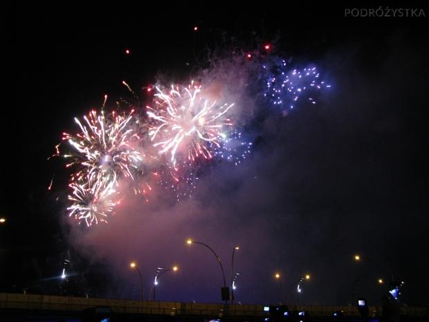 Singapur, Nowy Rok 2013, fajerwerki