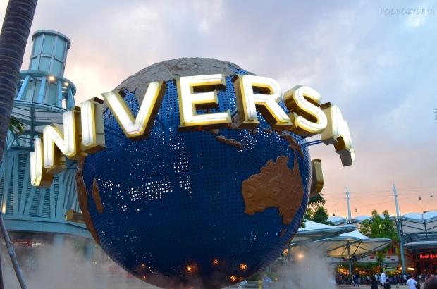 Singapur, Universal Studios, najbardziej znany globus świata