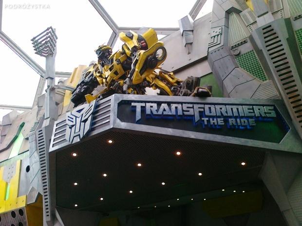 Singapur, Universal Studios, Transformers