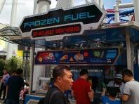 Singapur, Universal Studios, lodziarnia Frozen Fuel - Mrożone Paliwo