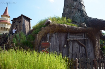 Singapur, Universal Studios, dom Shreka
