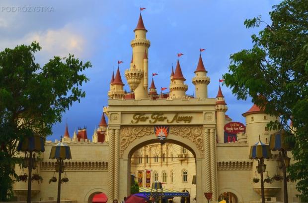 Singapur, Universal Studios, Zasiedmiogórogród