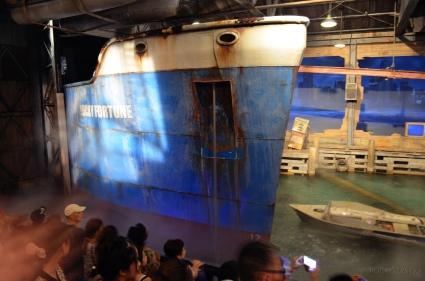Singapur, Universal Studios, efekty specjalne - statek!