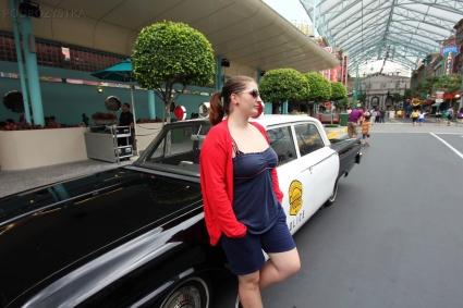 Singapur, Universal Studios, jakiś problem?!