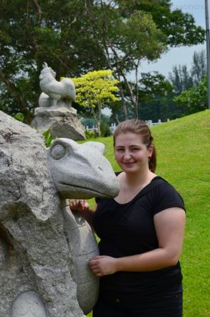 Singapur, Chinese and Japanese Garden - Ogród Chiński i Japoński - urodzona w roku Węża