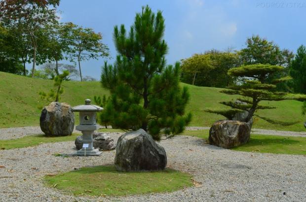Singapur, Chinese and Japanese Garden - Ogród Chiński i Japoński - japońskie latarenki