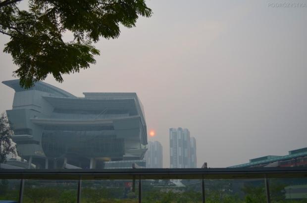 Singapur, słońce było bez szans