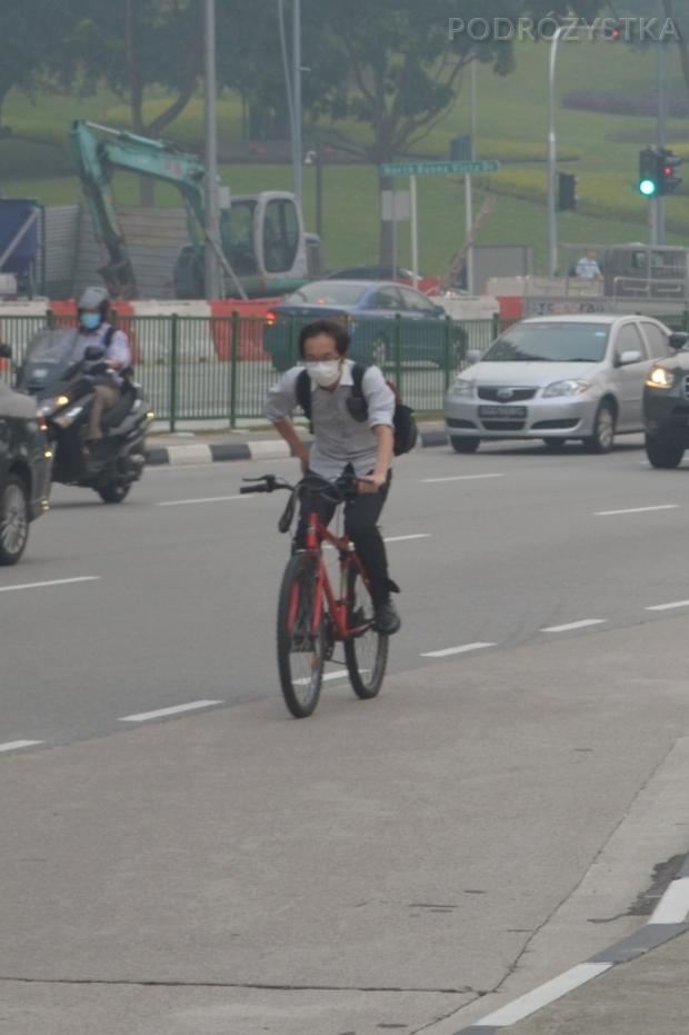 Singapur, bez maseczki ani rusz