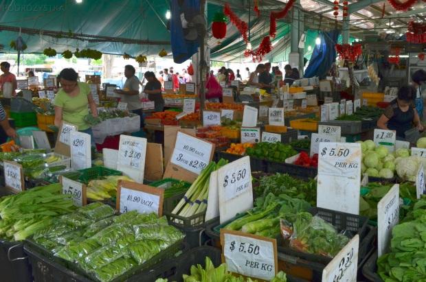 Singapur, Ghim Moh market